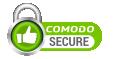 secured by comodo SSL